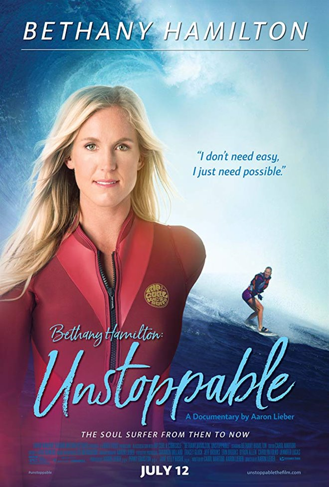 Bethany Hamilton: Unstoppable Large Poster