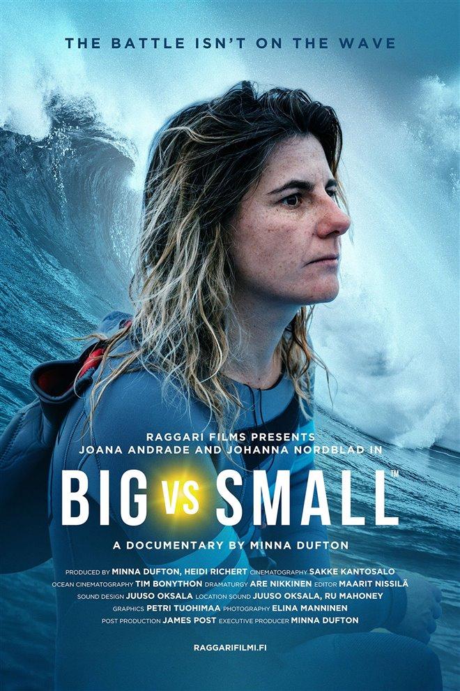 Big vs Small Large Poster