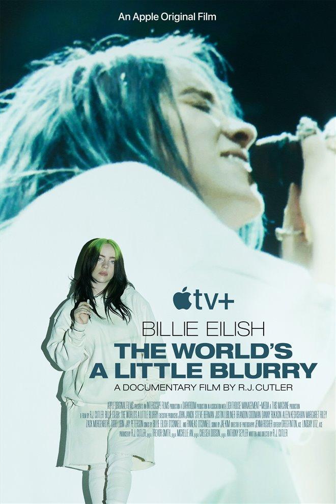 Billie Eilish: The World's a Little Blurry (Apple TV+) Poster