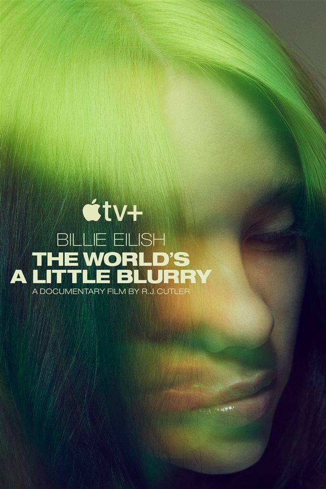 Billie Eilish : Un monde un peu flou (v.o.a.) Large Poster