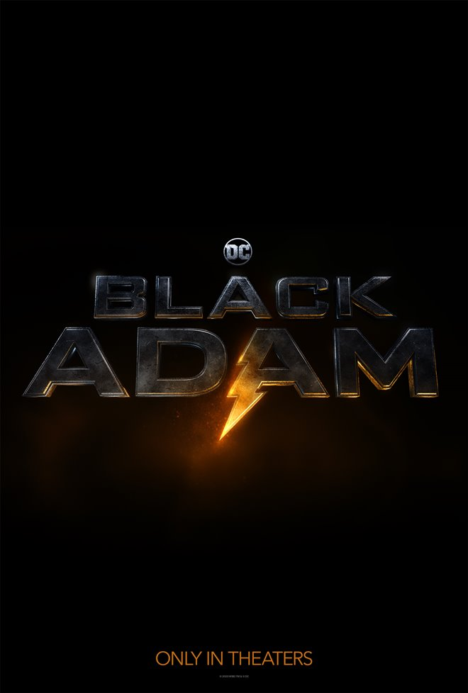 Black Adam Large Poster