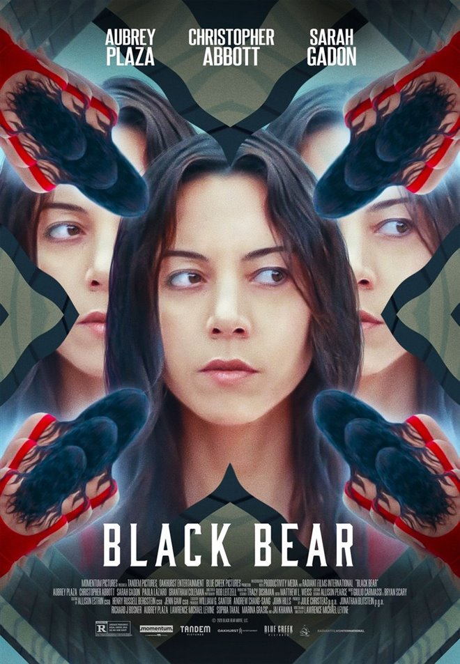 Black Bear Large Poster