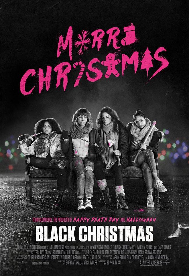 Black Christmas Large Poster