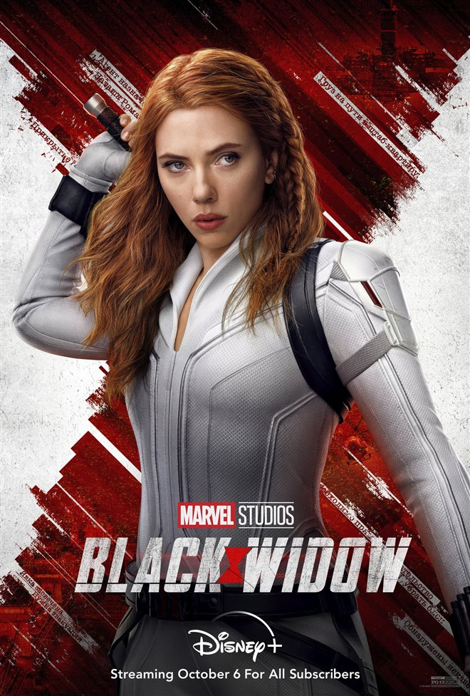 Black Widow (Disney+) Poster