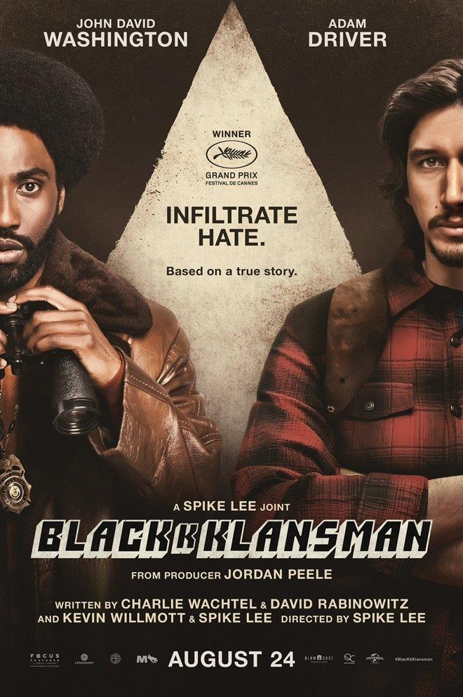 BlacKkKlansman Large Poster