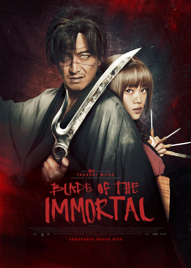 Blade of the Immortal Large Poster