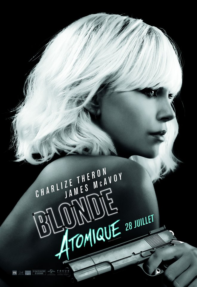 Blonde atomique Large Poster