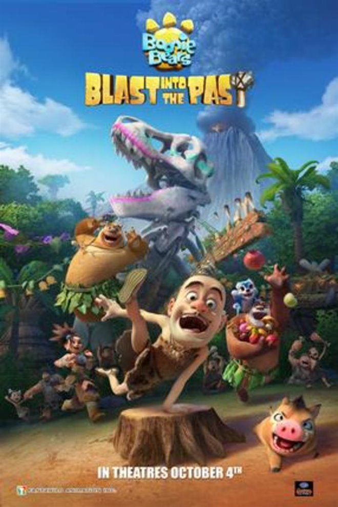Boonie Bears: Blast Into the Past Large Poster