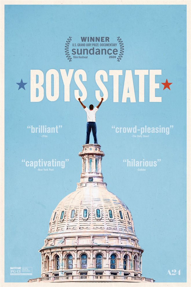 Boys State Large Poster