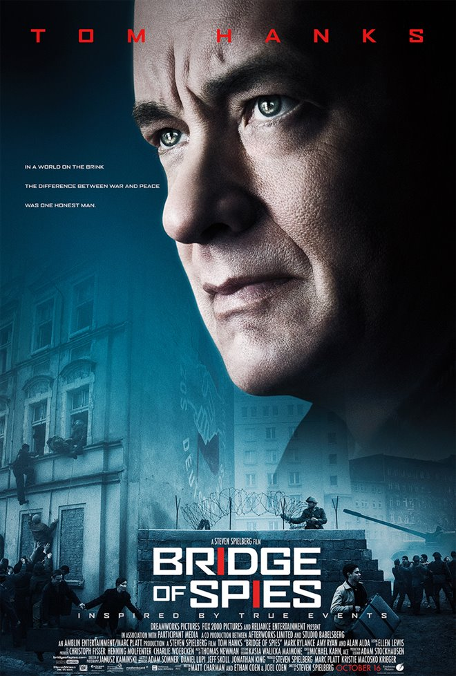Bridge of Spies Large Poster