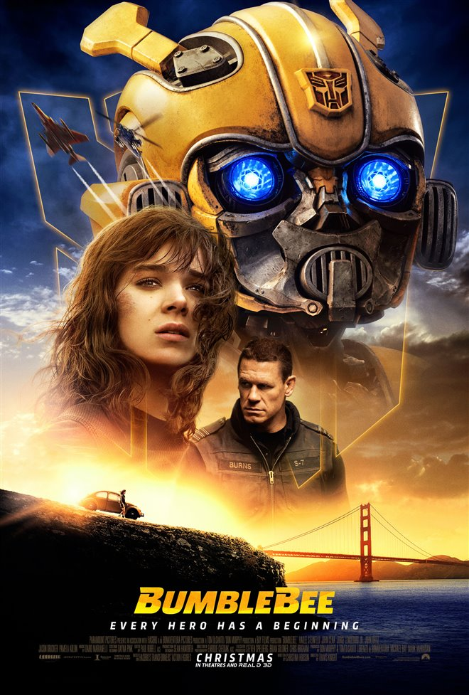 Bumblebee Large Poster
