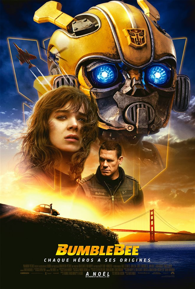 Bumblebee (v.f.) Large Poster