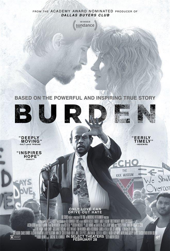 Burden Large Poster