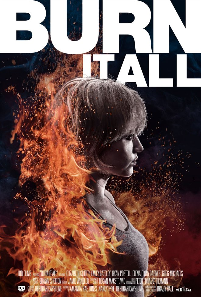 Burn it All Large Poster