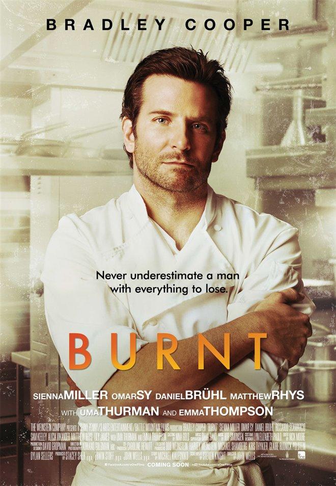 Burnt Large Poster