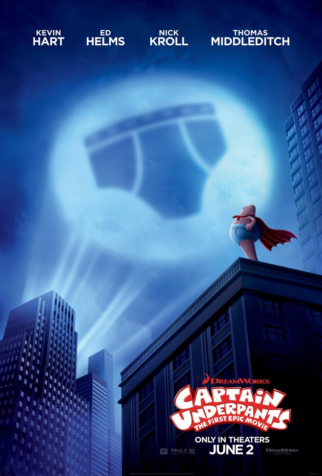 Captain Underpants: The First Epic Movie Large Poster