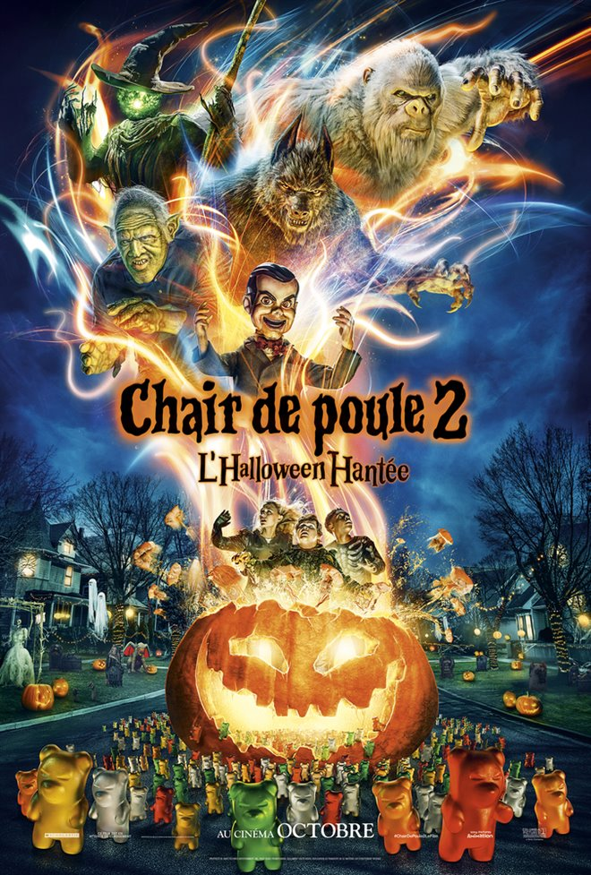 Chair de poule 2 : L'halloween hantée Large Poster