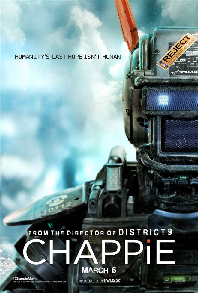 Chappie Large Poster