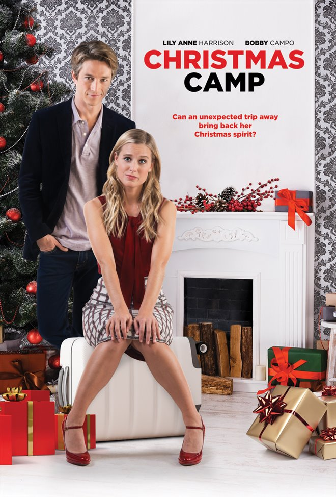Christmas Camp Large Poster