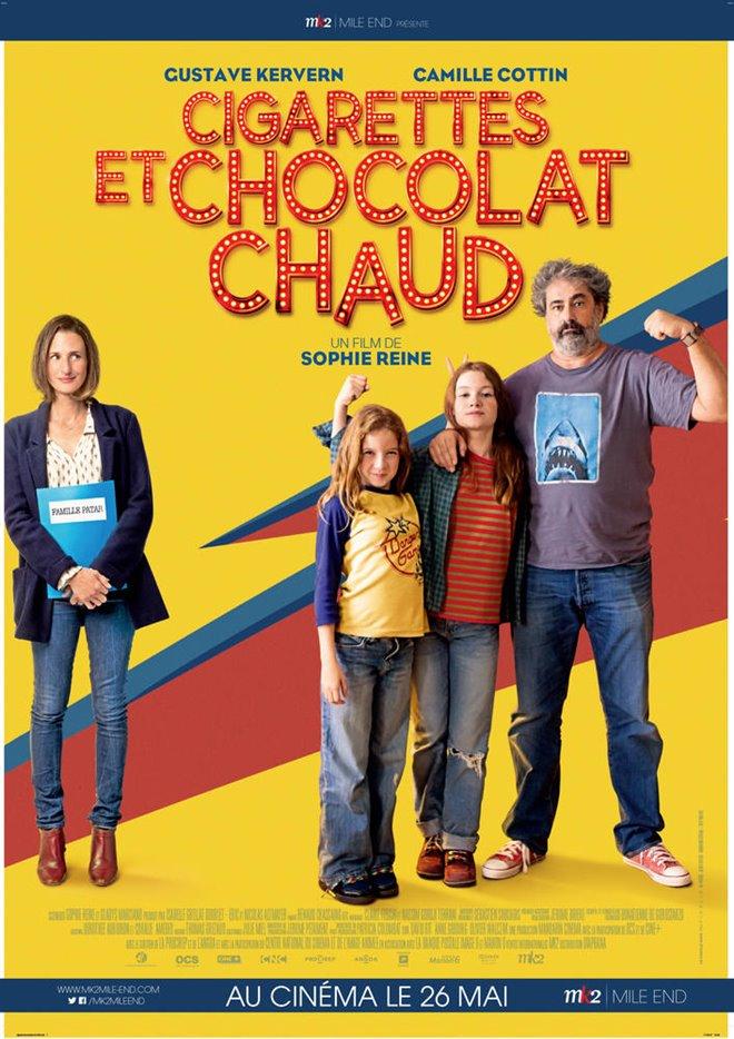 Cigarettes et chocolat chaud Large Poster