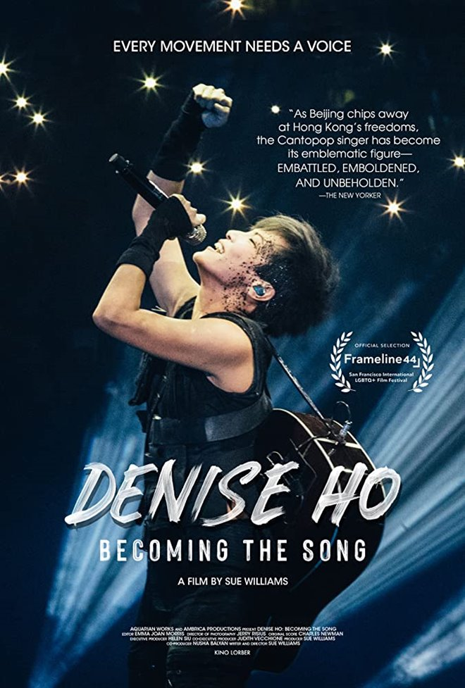 Cinematheque at Home: Denise Ho: Becoming the Song Poster