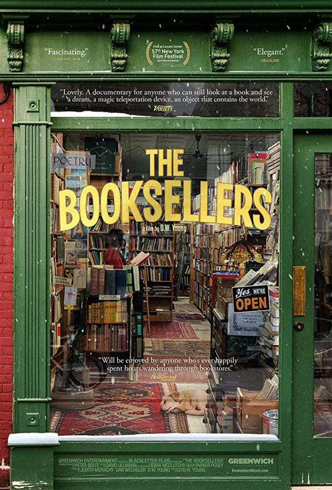 Cinematheque at Home: The Booksellers Large Poster