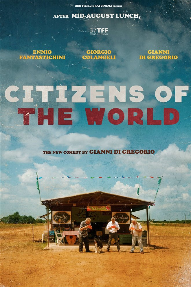Citizens of the World (Lontano Lontano) Large Poster
