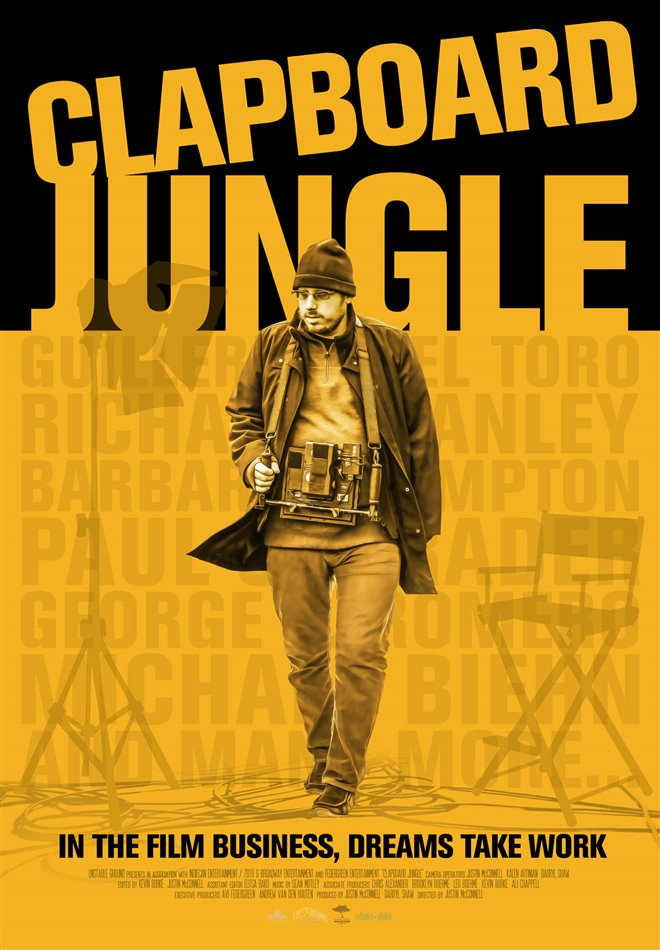 Clapboard Jungle Large Poster