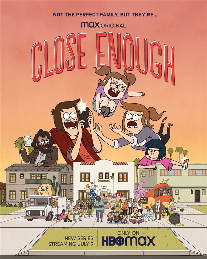 Close Enough (HBO Max/Netflix) Large Poster