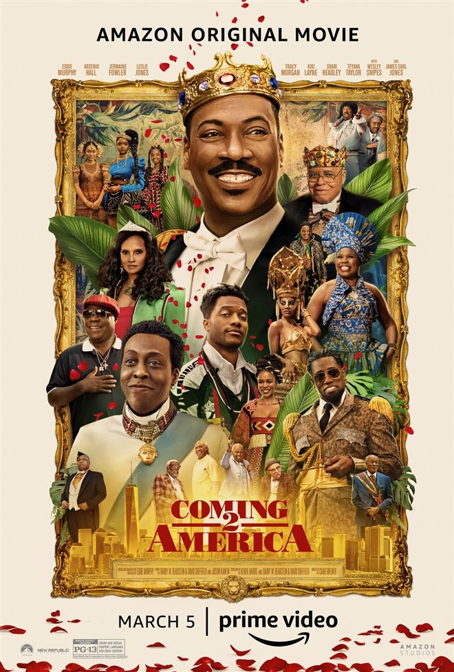 Coming 2 America (Amazon Prime Video) Poster