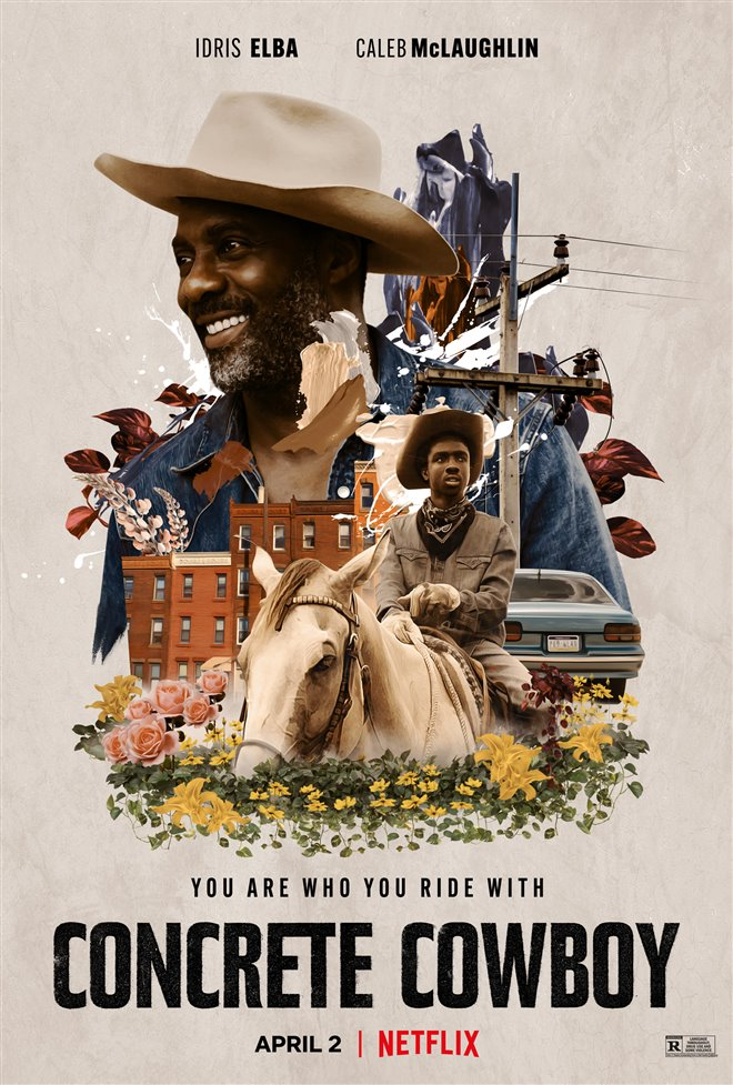 Concrete Cowboy (Netflix) Poster