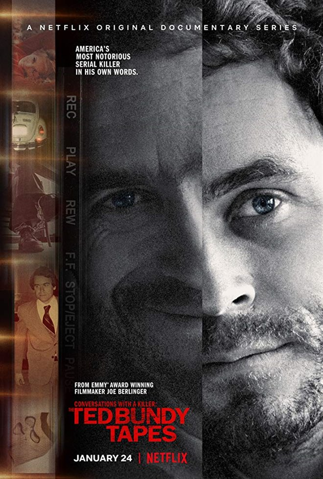 Conversations With a Killer: The Ted Bundy Tapes (Netflix) Large Poster