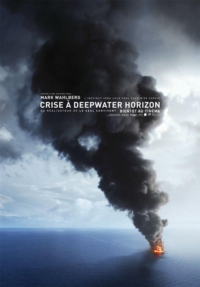 Crise à Deepwater Horizon Large Poster