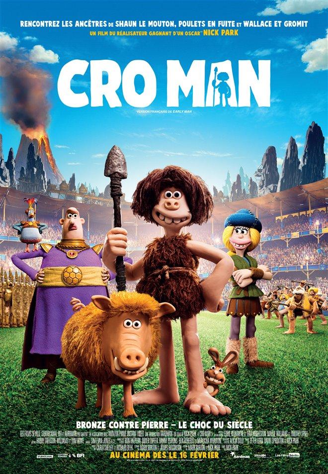 Cro Man Large Poster