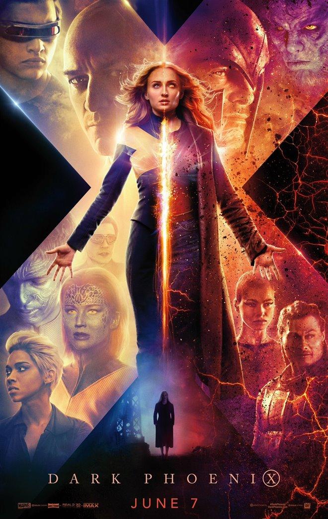 Dark Phoenix Large Poster