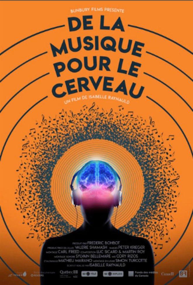 De la musique pour le cerveau Large Poster