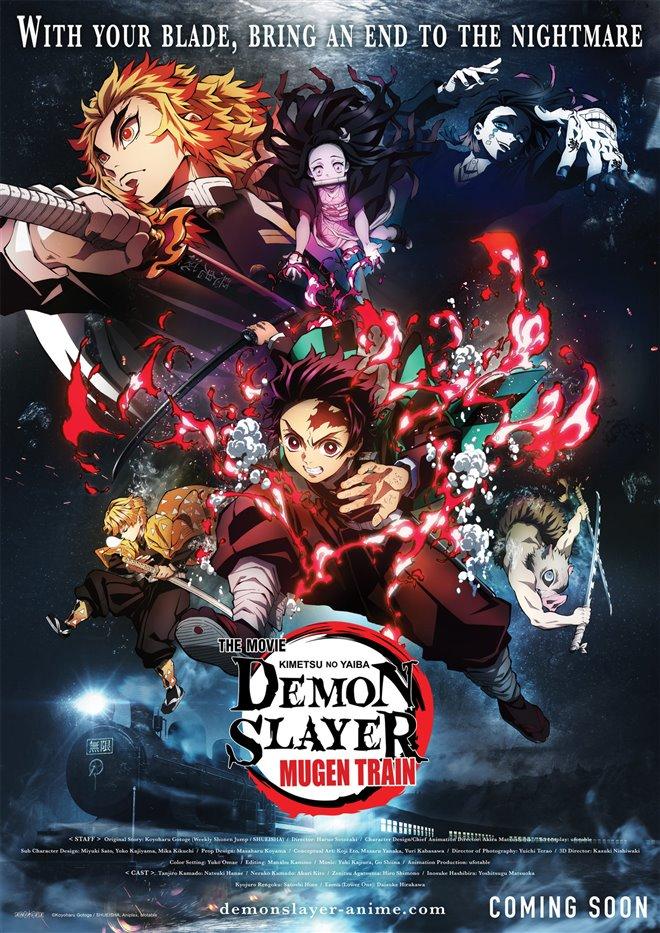 Demon Slayer the Movie: Mugen Train (v.o.s-.t.f.) Large Poster
