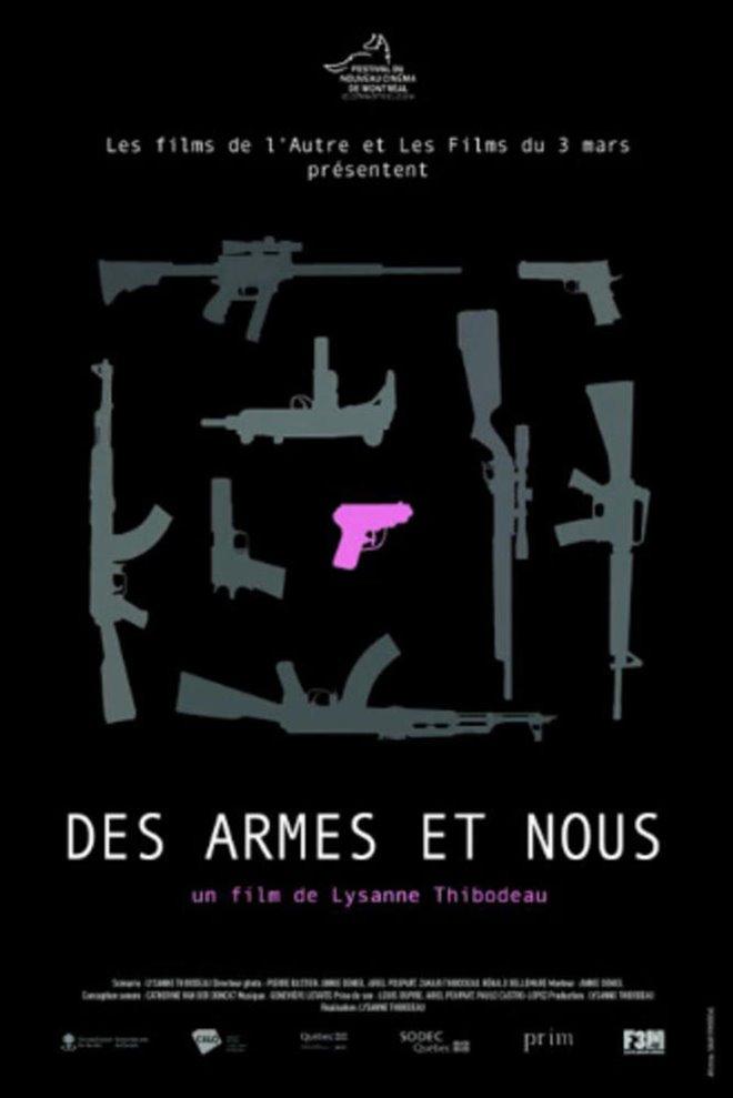 Des armes et nous Large Poster