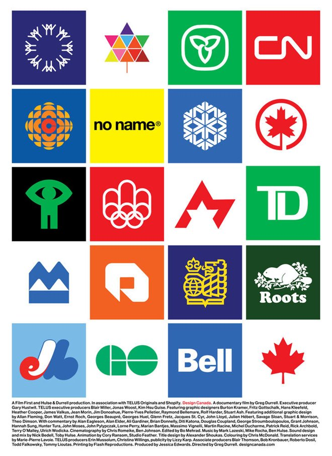 Design Canada Large Poster
