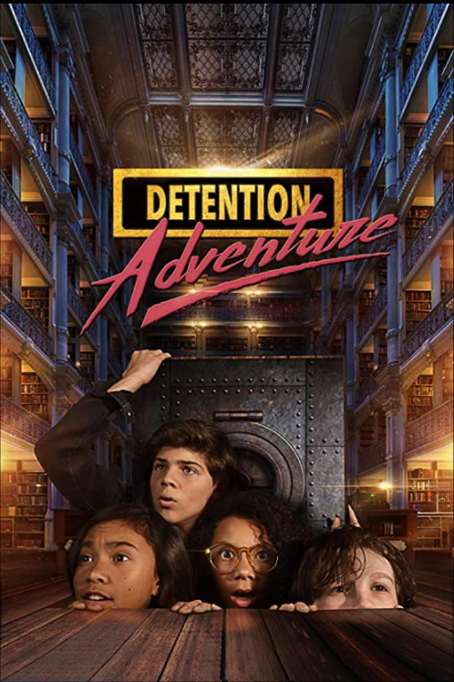 Detention Adventure Large Poster