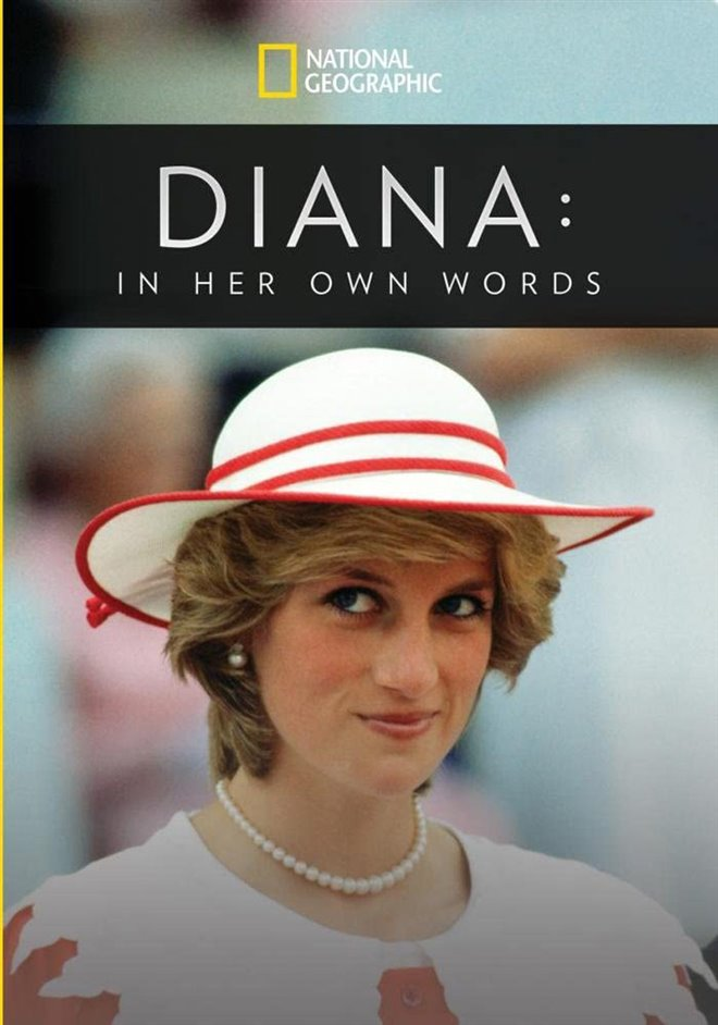 Diana: In Her Own Words Large Poster