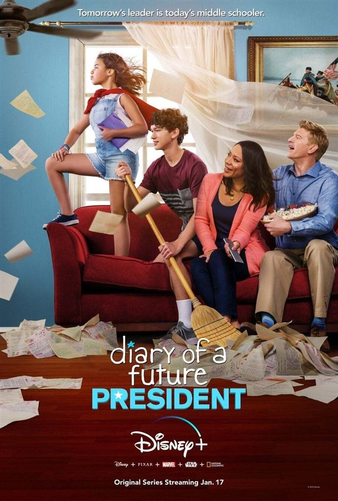 Diary of a Future President (Disney+) Large Poster