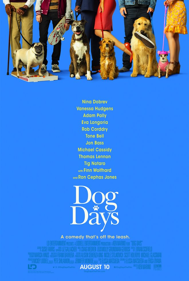 Dog Days Large Poster