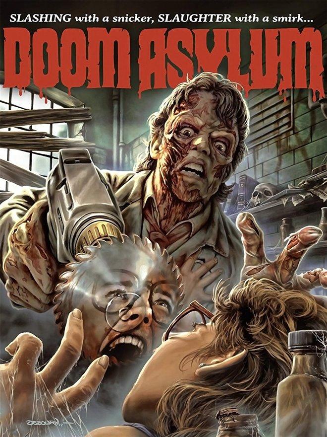 Doom Asylum Large Poster