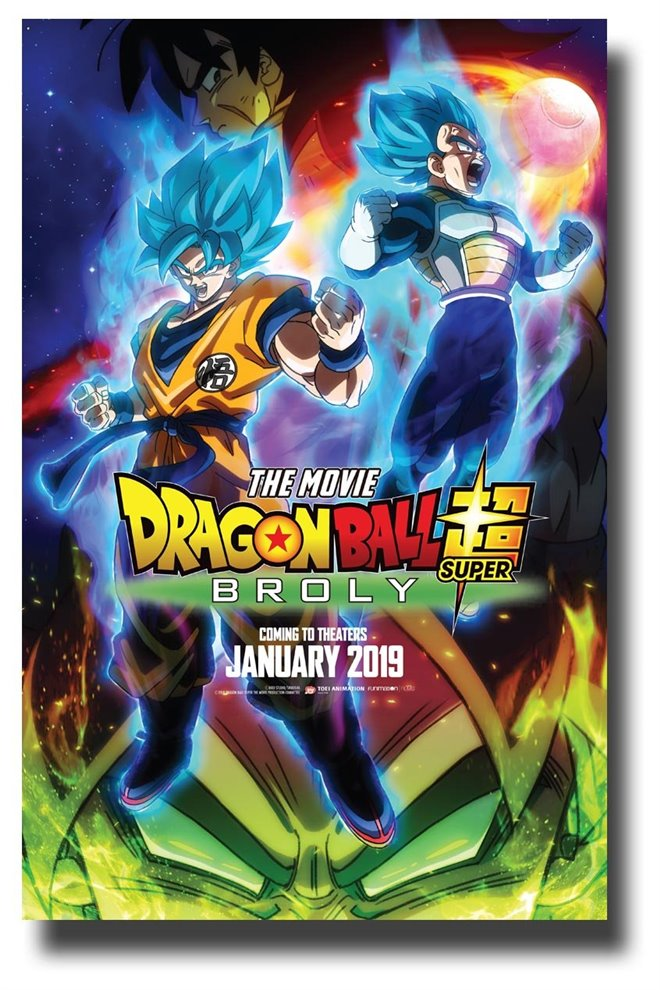 Dragon Ball Super: Broly Large Poster