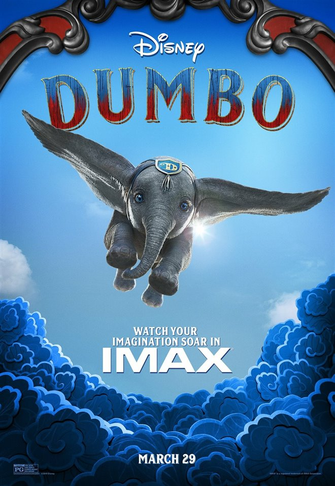 Dumbo: An IMAX 3D Experience Large Poster