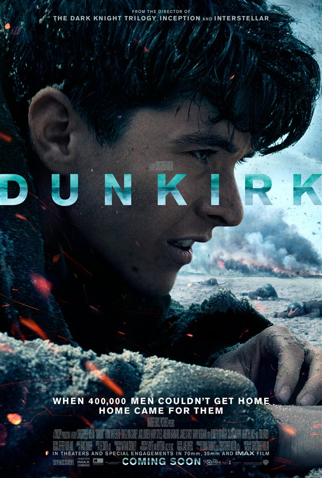 Dunkirk in 70mm Large Poster