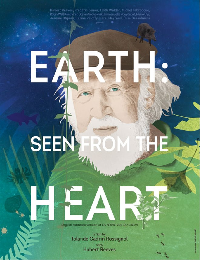 Earth: Seen from the Heart Large Poster