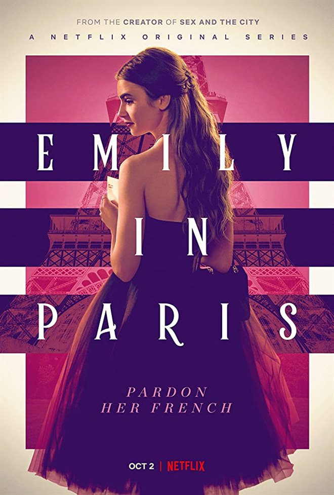 Emily in Paris (Netflix) Poster