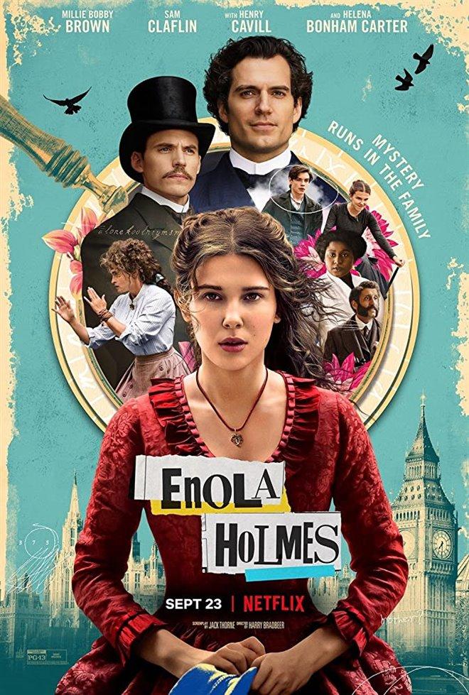 Enola Holmes (Netflix) Large Poster